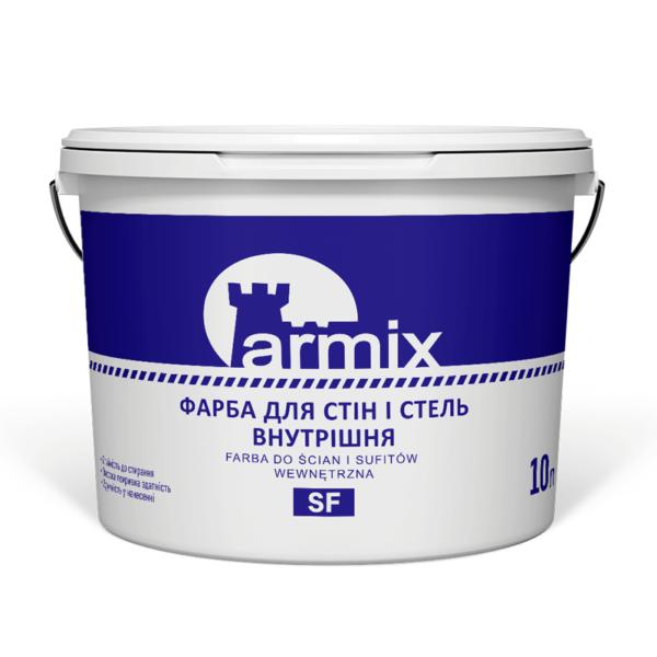 Фарба-внутрішня-для-стін-і-стель-Armix-SF--10-літрів