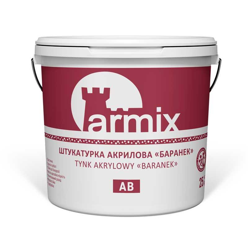 Штукатурка-фасадна-акрилова-баранек-Armix-AB