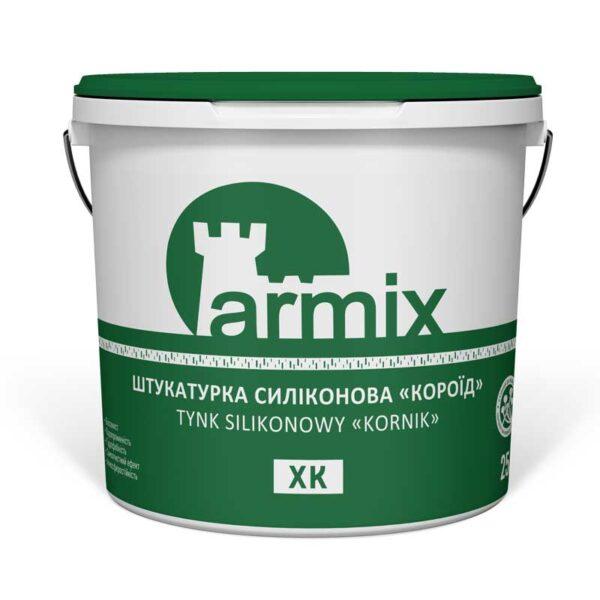 Штукатурка-силіконова-короїд-Armix-XK